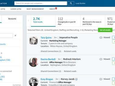 LinkedIn Lead Management and Lead Generation