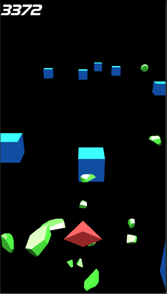 Endless Cube Racer