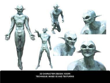 Character Design 3D