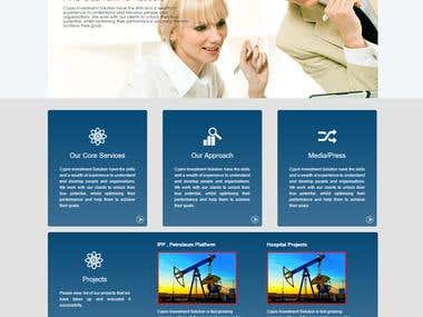 We bdesigning for Investment Company