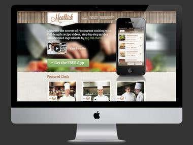 Mealkick - Website