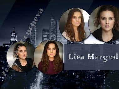 Collage - Lisa Marged, actress