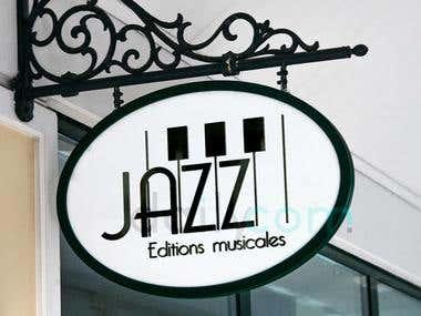 Logo design et moderne pour une Maison d'édition : JAZZ