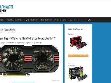 Website http://grafikkarte-kaufen.info