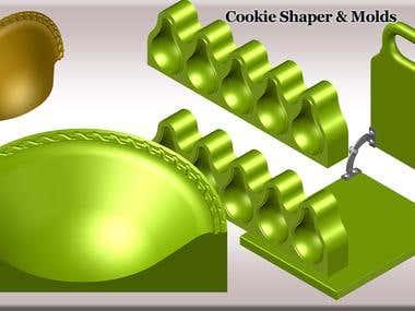 Cookie Shaper & Molds