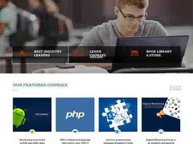Online Training Website