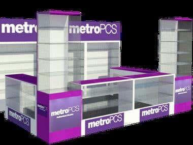 Metro PCS Kiosk