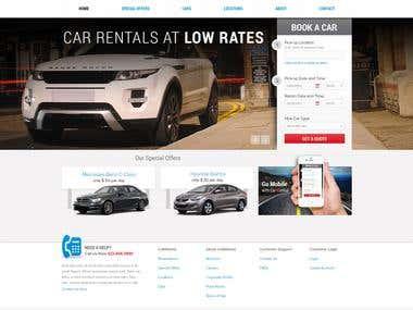 Car Rental - platform