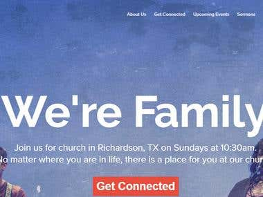 Website worpdress - http://loftcitychurch.com/