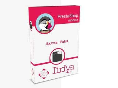 PrestaShop Developer - Extra Tabs