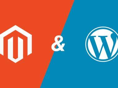 Magento and Wordpress Servies.