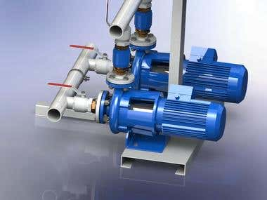 Dual pump