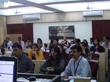 My training in Mumbai