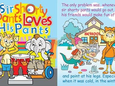 SIR SHORTY BOOK ILLUSTRATIONS