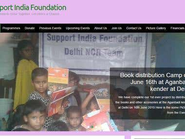 www.supportindiafoundation.in