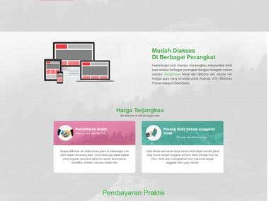 website advertisingharian bogor