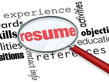 Article & Resume Writing