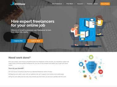 Freelancer Websites Design & Development