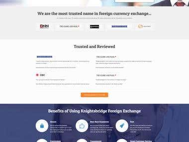FXBridge Website