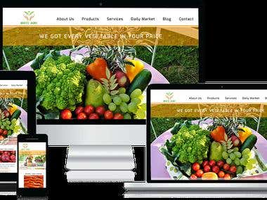 Bhati Agro - HTML5 Website