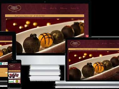 Choco Nirvana - PHP Website
