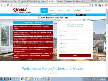 Mehta Packers and Movers