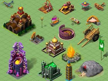 3D Game Assets