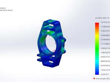 stress simulation using solidworks