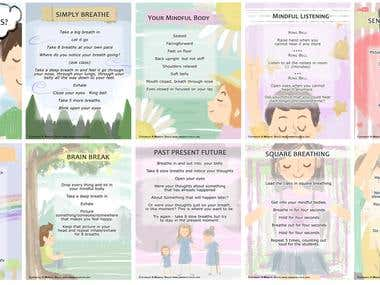 mindfulness flashcard