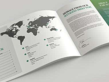 Brochure / Catalog Design