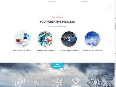 Medical Company Website Designed in Wordpress