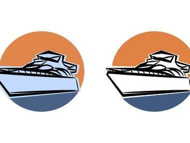 a yacht logo