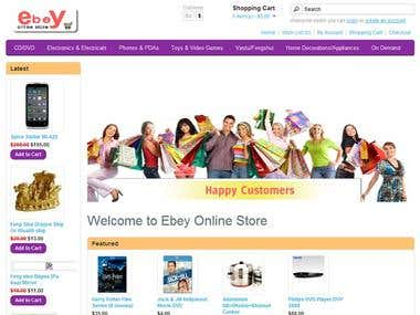 Ebey Online Store   www.ebeyonlinestore.com