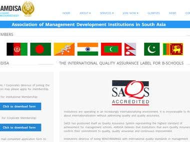 Courses Website