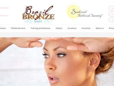 Sunkissed Airbrush Tanning at Brazil Bronze