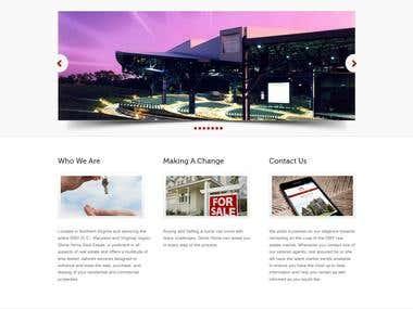 Simple Real Estate Work in Wordpress