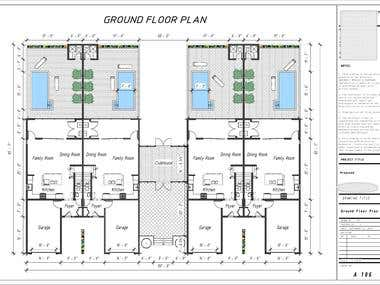 Floor Plans-Elevations-Sections