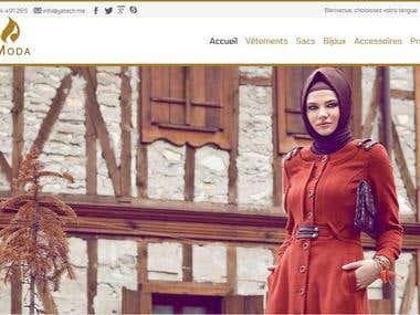 Moda fashion store