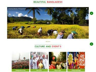 Bangladesh Tourism (A Travel Website)