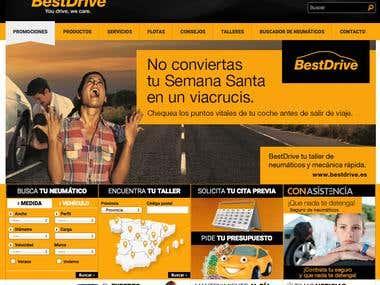 Web corporativa Bestdrive