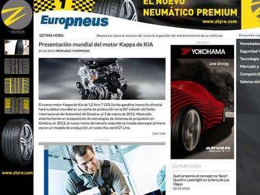 Revista digital Europneus