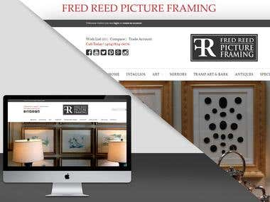 FRED REED PICTURE FRAMES