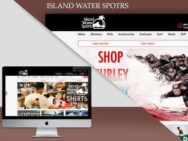 ISLAND WATER SPORTS-E-COMMERCE PORTAL