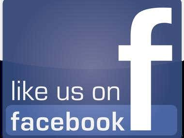 Facebook Like service Provided