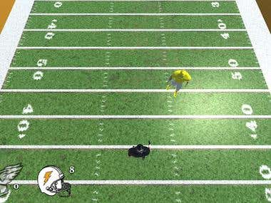RunningBack - Unity3D game