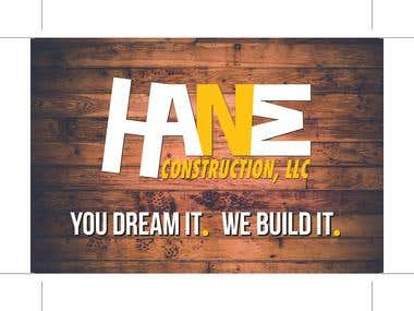BusinessCard Design for HANM Construction