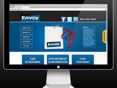 EnvoyIDEnvoyID_wordpress web layout