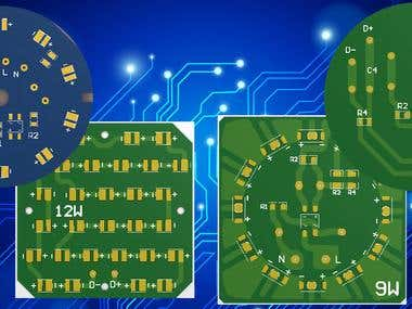 Design for Schematic and PCB