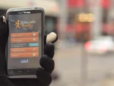 Sidewalk Buddy Android App