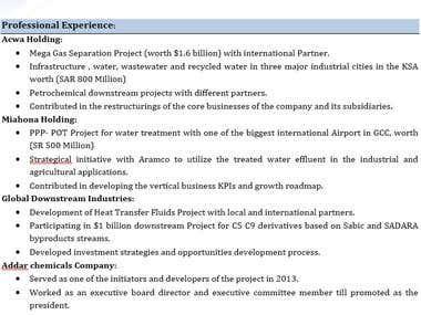 CV - Resume - Cover Letter